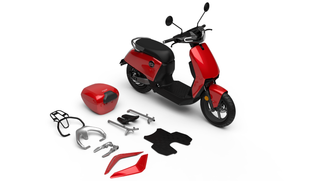 Un scooter électrique au look vintage